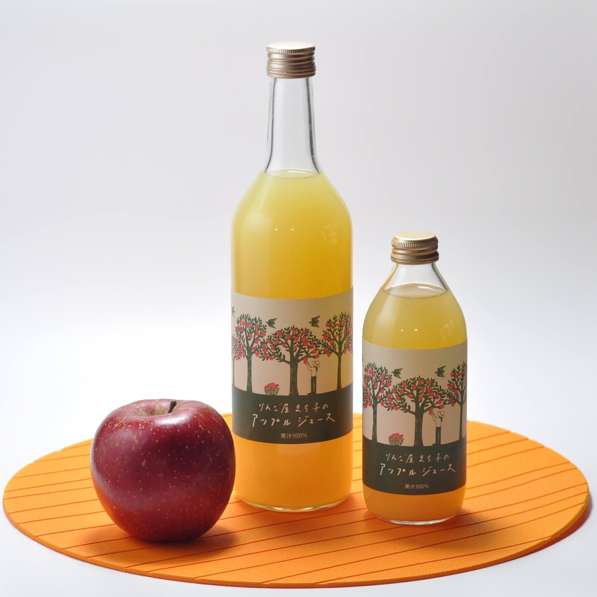 りんご屋まち子のアップルジュース