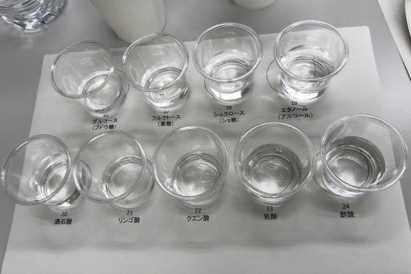 ワインの香味識別・成分分析実習@盛岡